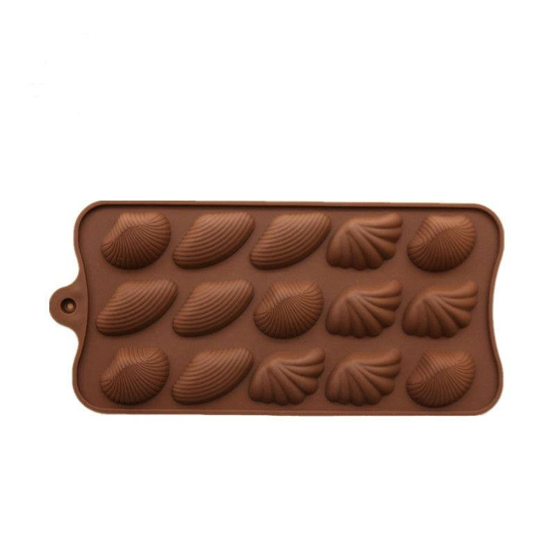 JoyGlobal Sea Shell Shape  Chocolate Silicone Mould - JoyGlobal.in