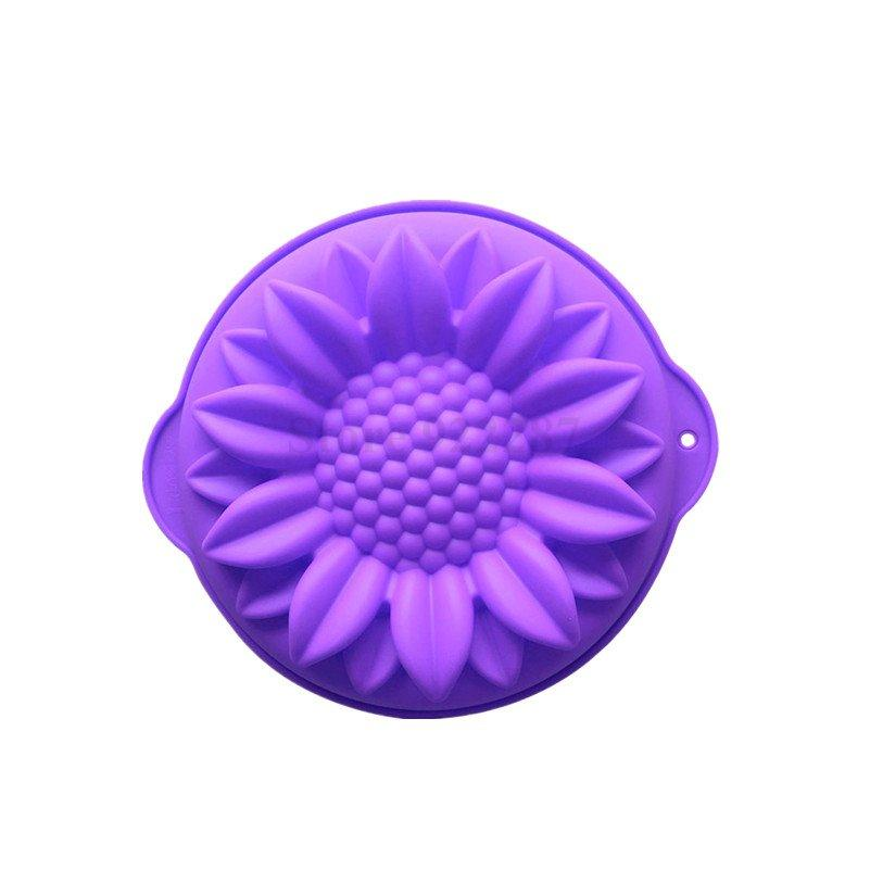 Sunflower Cake Pans Bread Baking Tray Silicone Cake Mold Bakeware - JoyGlobal.in