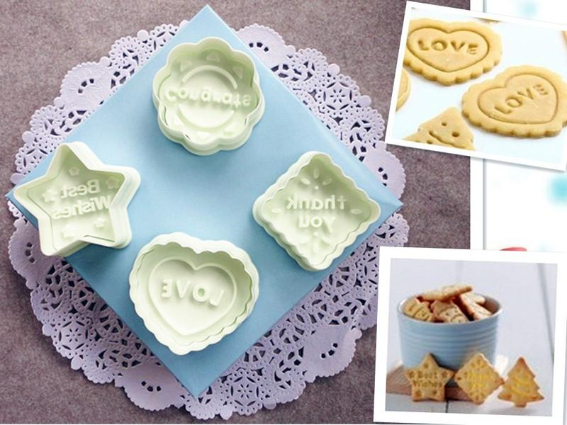 Thank You Love congrats best wishes plunger cutter Biscuit Cookie Cutter for Cake Decoration
