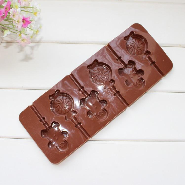 JoyGlobal gingerbread man Silicone Lollipop Mould - JoyGlobal.in