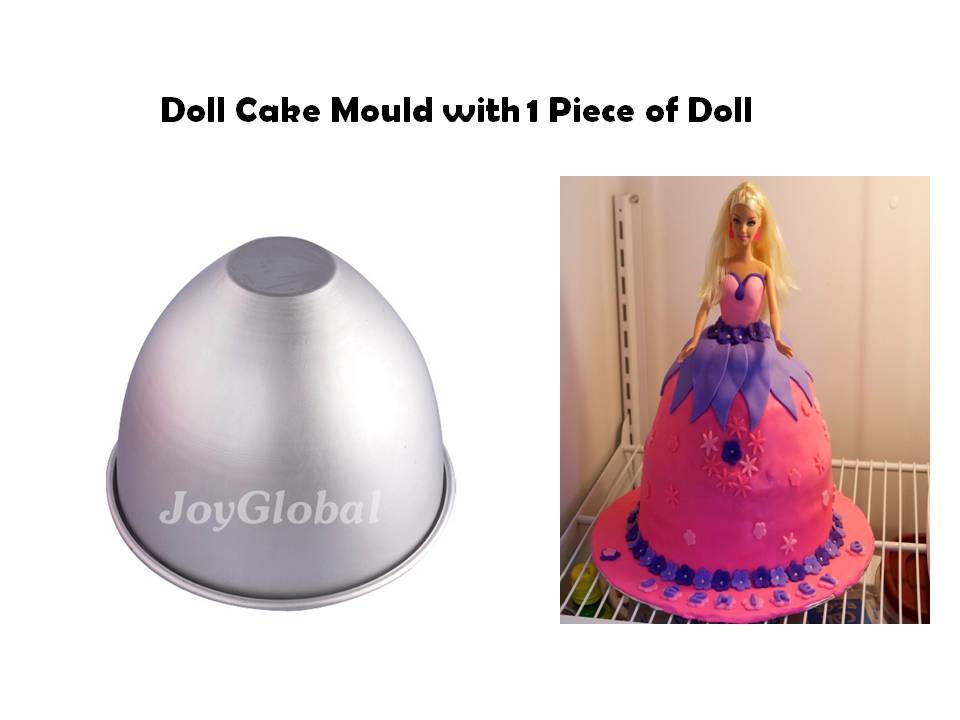 JoyGlobal 21 cm doll cake mould - JoyGlobal.in