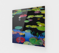 Lilies of the Woods Acrylic Print