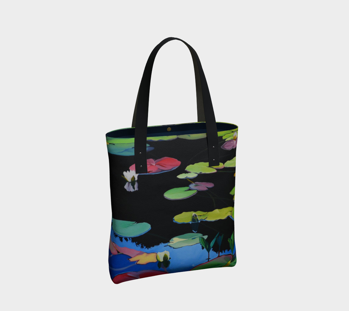 Lilies of the Woods Urban Tote