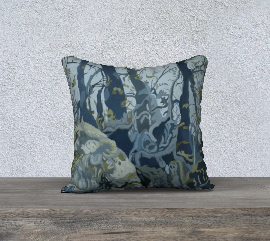 Norwegian Woods Pillow 18 x 18 #1