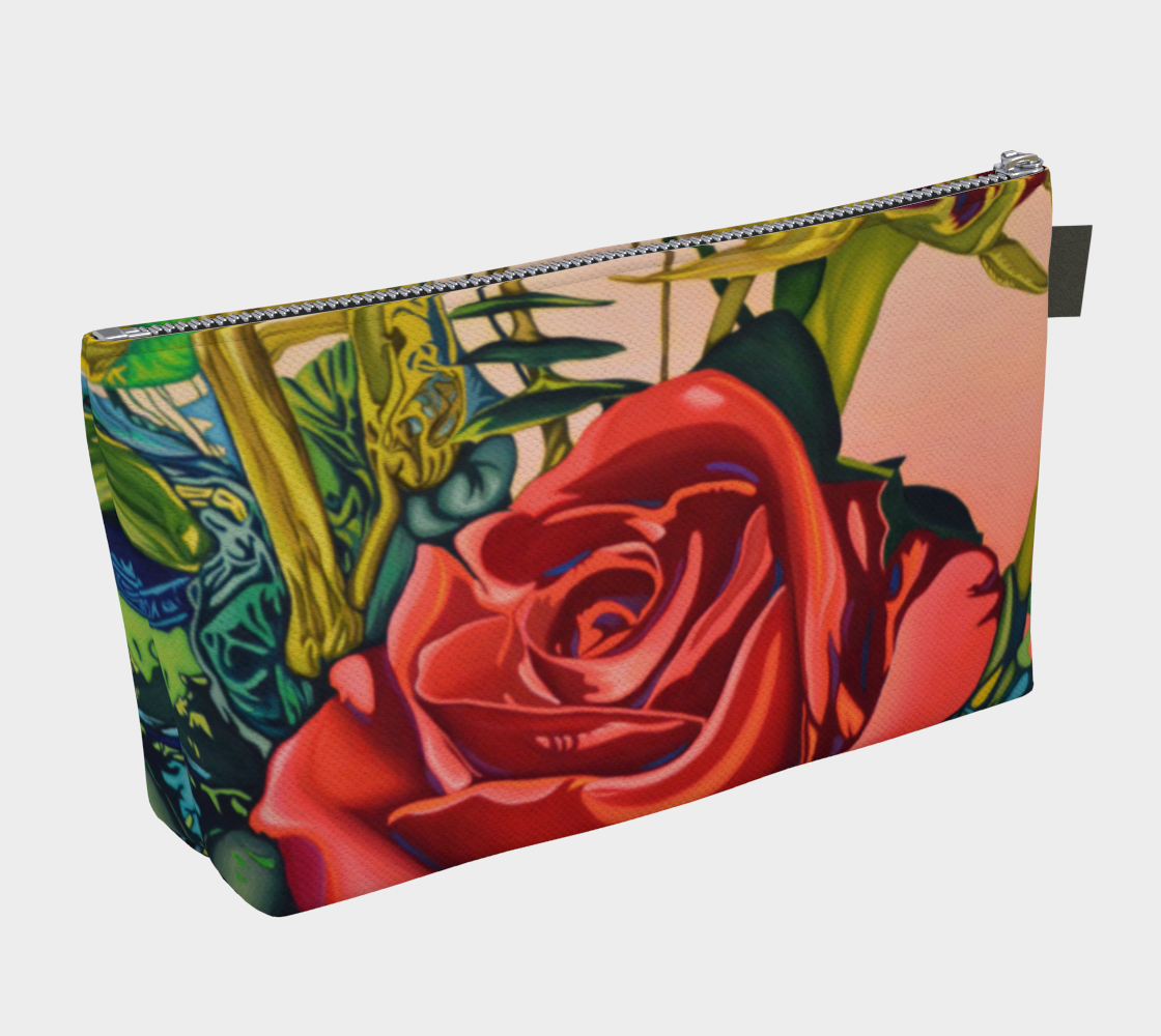 Rose Make-up Bag