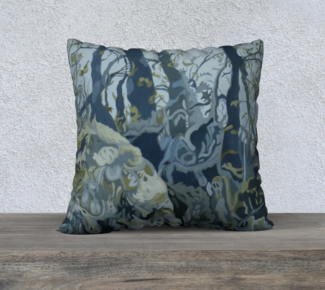 Norwegian Woods Pillow 22 x 22 #1