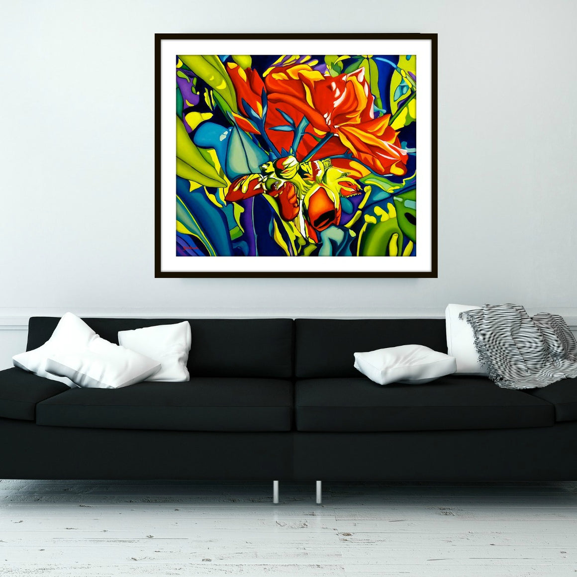 Emerging Red Fine Art Print