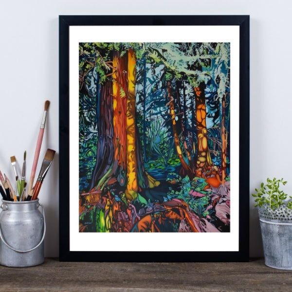 Dream Catcher Forest Fine Art Print