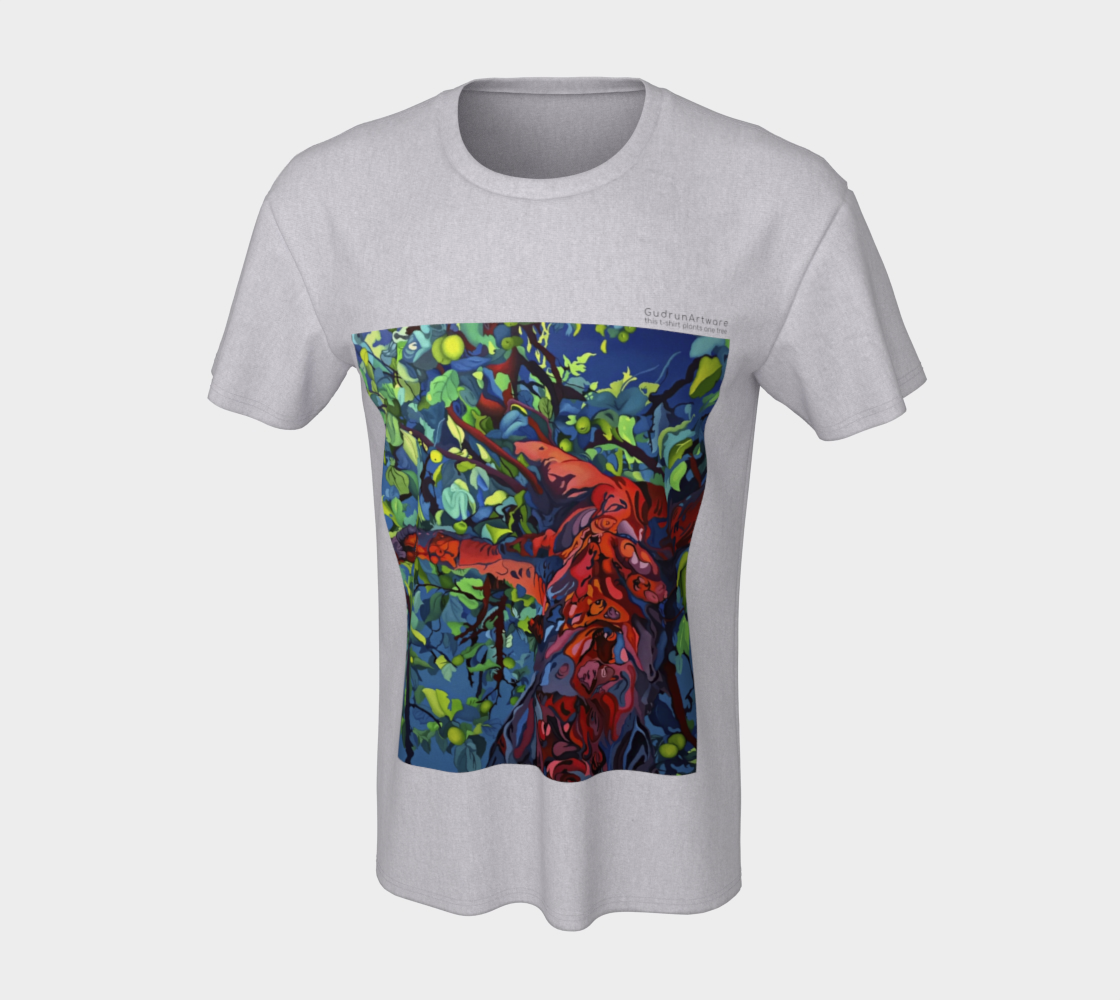 Unisex Apple Tree-Shirt