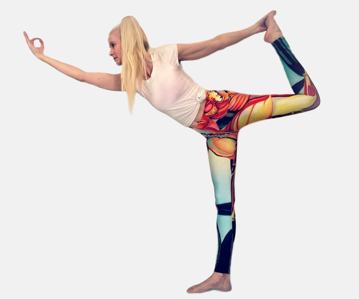 Pollination Yoga Leggings