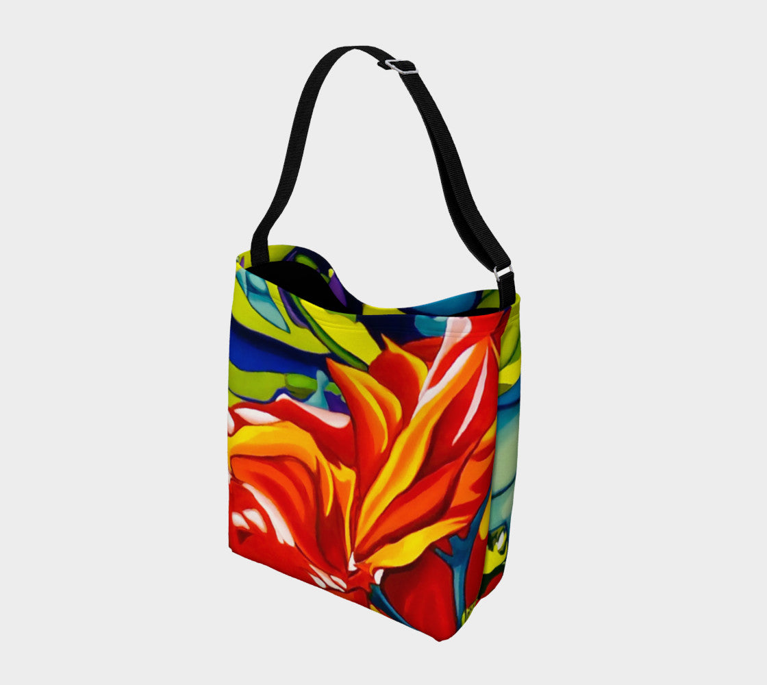 Emerging Red Tote