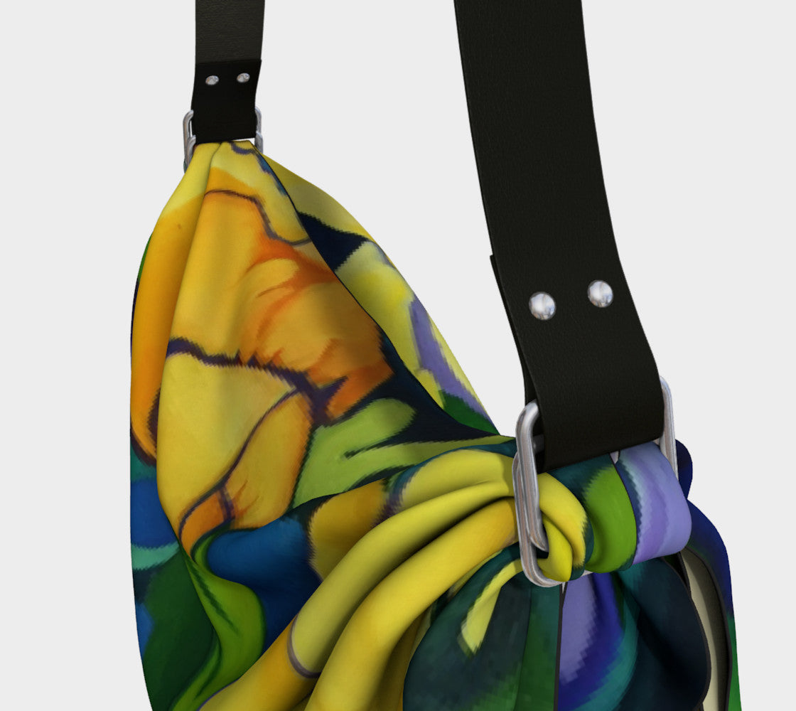 Pansy Origami Tote