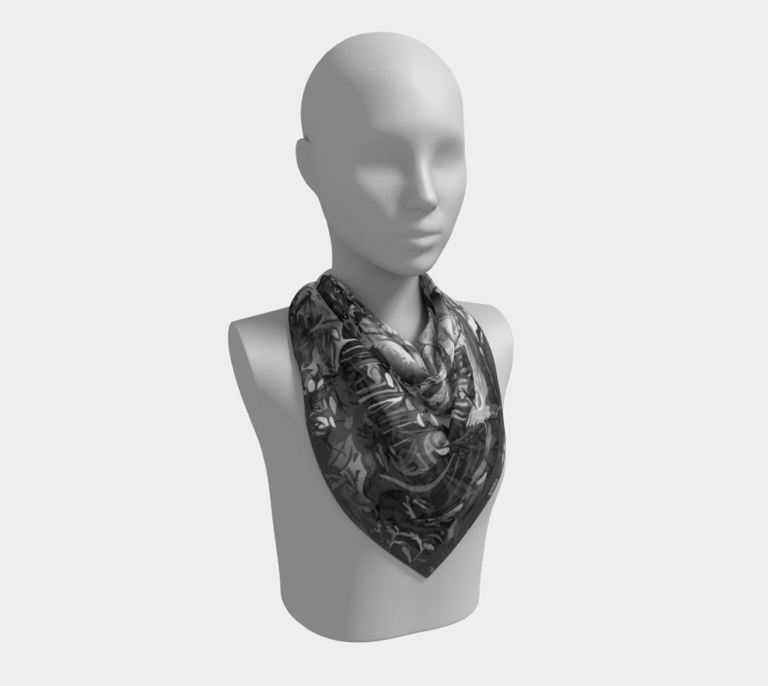 Forest Square Scarf