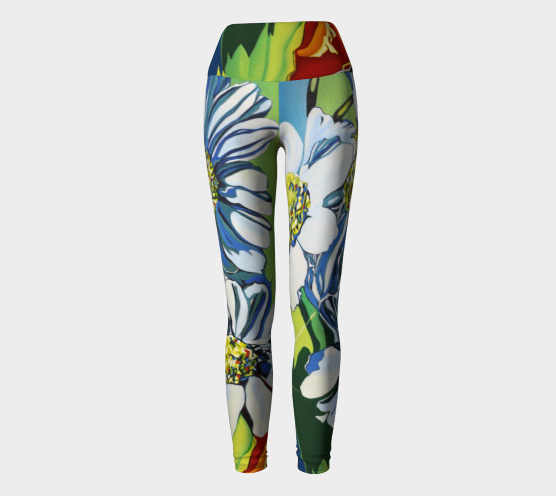 Daisy Yoga Leggings