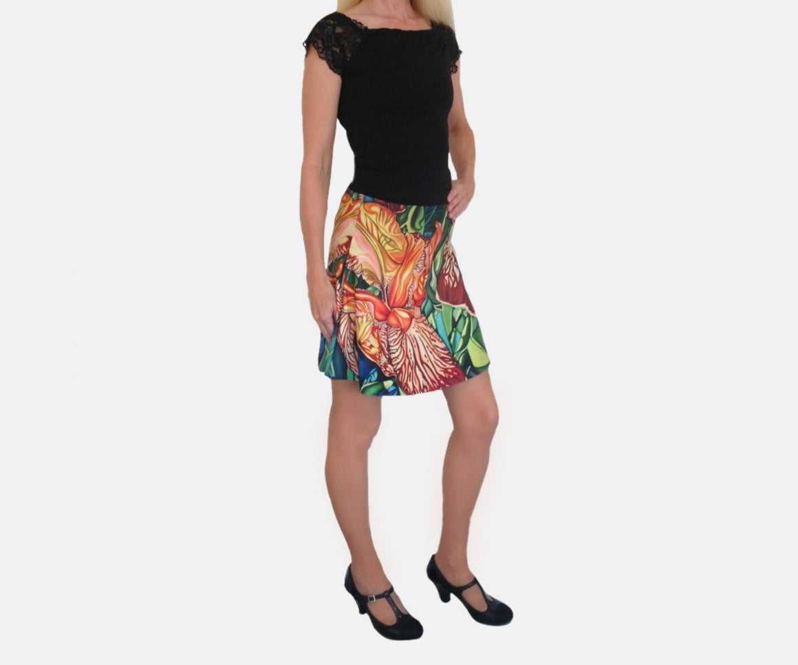 Three Graces Flare Skirt