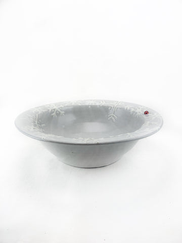Snowflake Serving Bowl