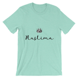"""Queen.Muslim"" Unisex short sleeve t-shirt"
