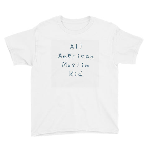 """All American Muslim Kid"" Youth Short Sleeve T-Shirt"