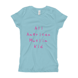 """All American Muslim Kid"" Girl's T-Shirt"