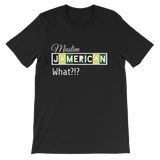 """Muslim. Jamerican"" Unisex short sleeve t-shirt"