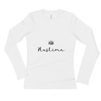 """Muslima Queen"" Ladies' Long Sleeve T-Shirt"