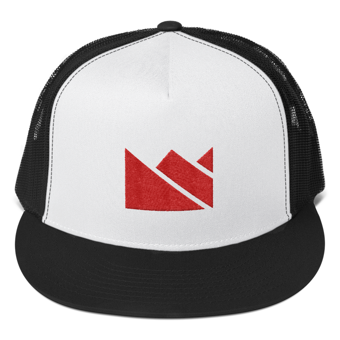 Red Crown Trucker Hat