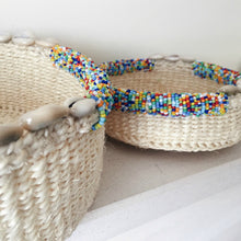 Cowry Shell Machakos Nesting Baskets - Various Colours