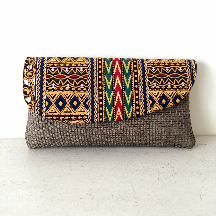 Kushika Clutch Bag - Small - More Colours Available