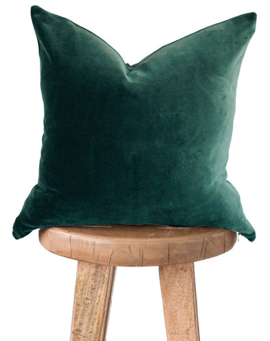 Emerald Green Velvet Pillow Covers