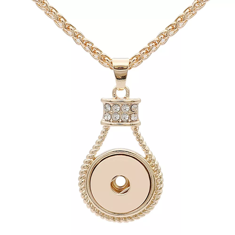 Classic Rose Gold / Necklace / 50 cm chain