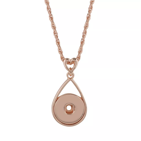 Classic Rose Gold / Necklace / 45cm chain