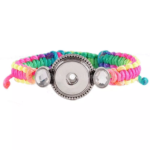 Classic - Multi color, string adjustable bracelet
