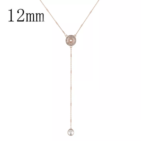 Petite - Rose Gold plated / Necklace / 47cm chain