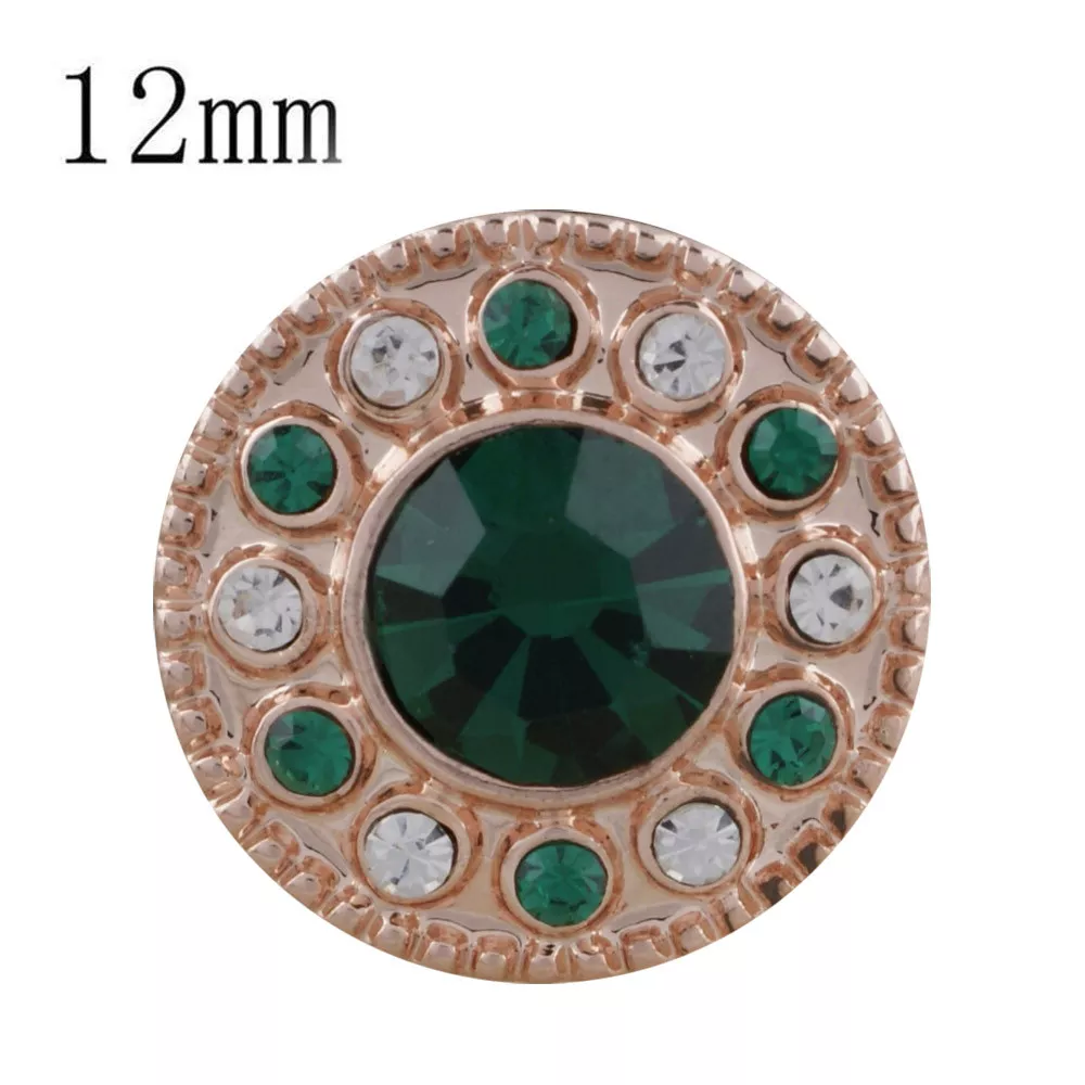 Petite - Rose Gold plated / Green