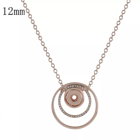 Petite - Rose Gold plated / Necklace / 73cm chain