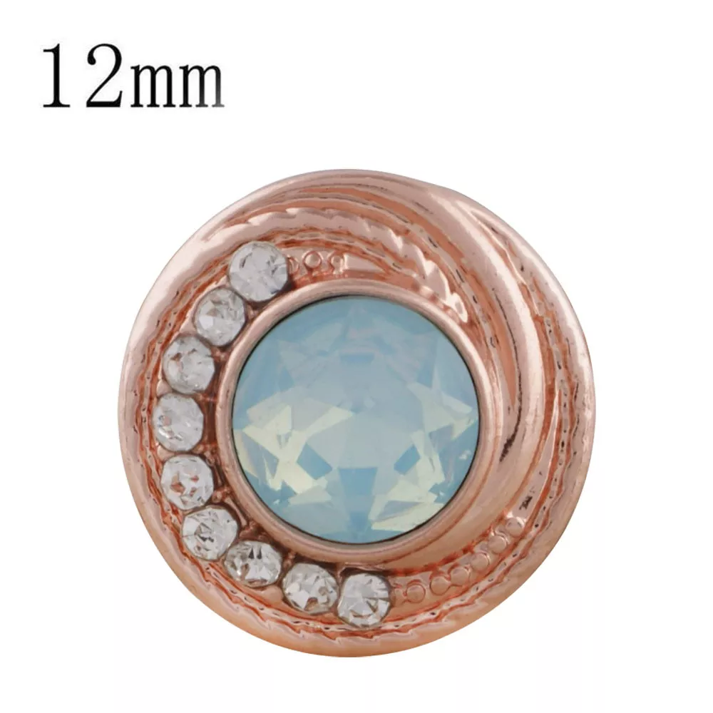 Petite - Rose Gold plated / Blue