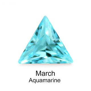 Crystal Birthstone / Aquamarine