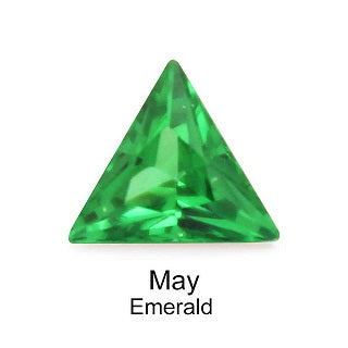 Crystal Birthstone / Emerald