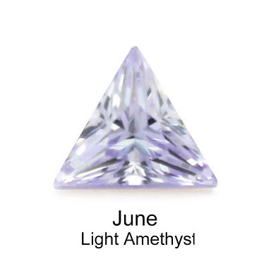 Crystal Birthstone / Light Amethyst