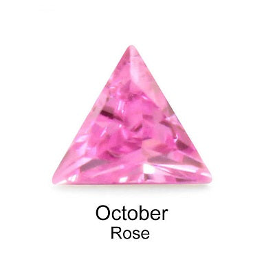 Crystal Birthstone / Rose