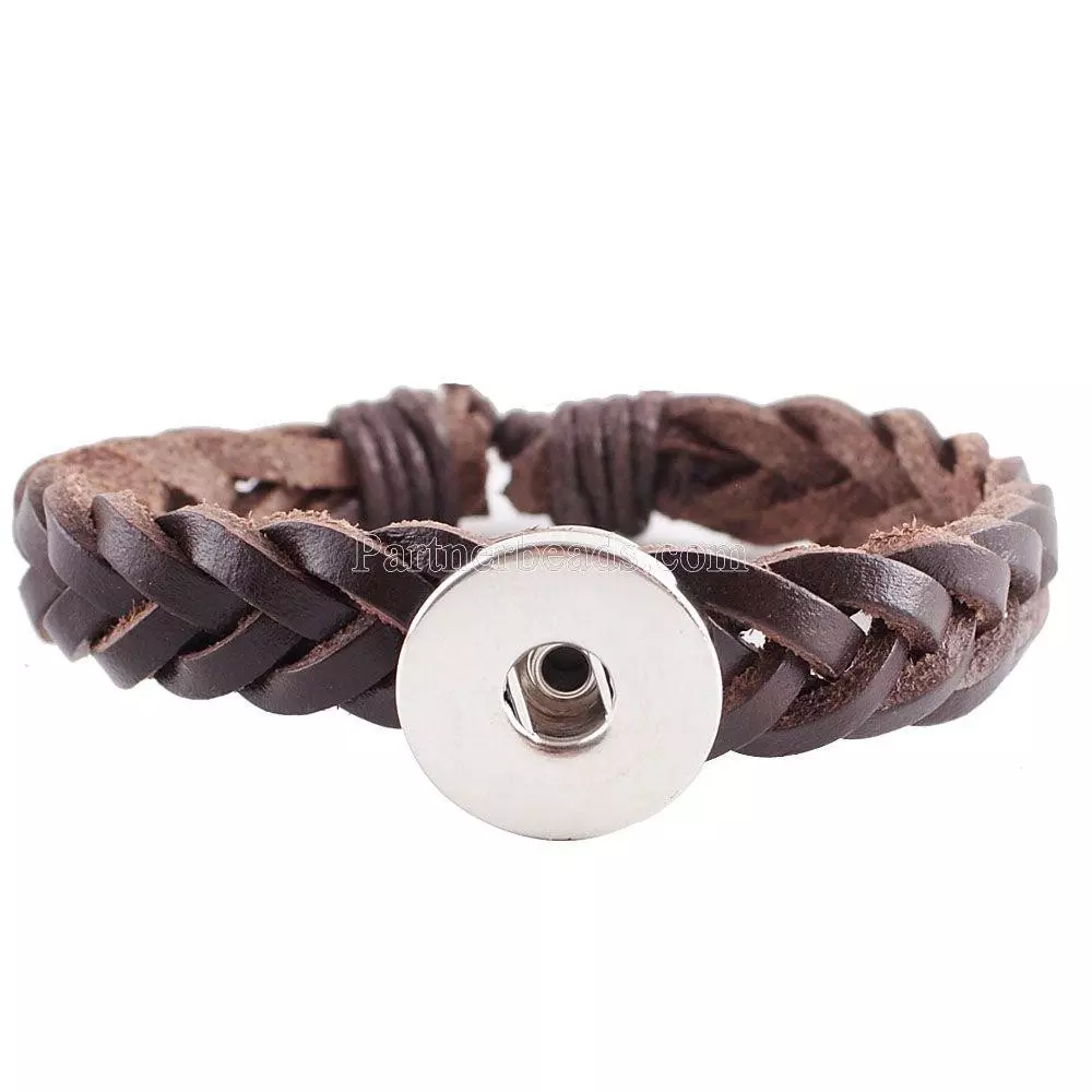 Classic Brown real leather adjustable