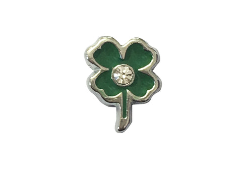 4 Leaf clover with diamante