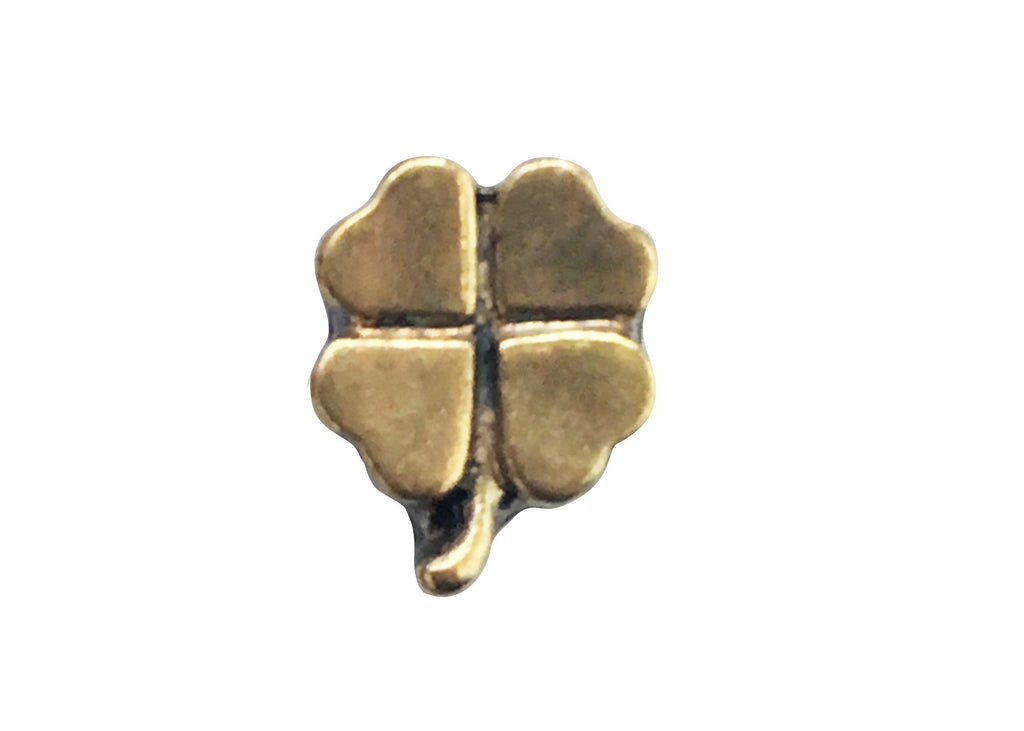 Gold 4 leaf clover
