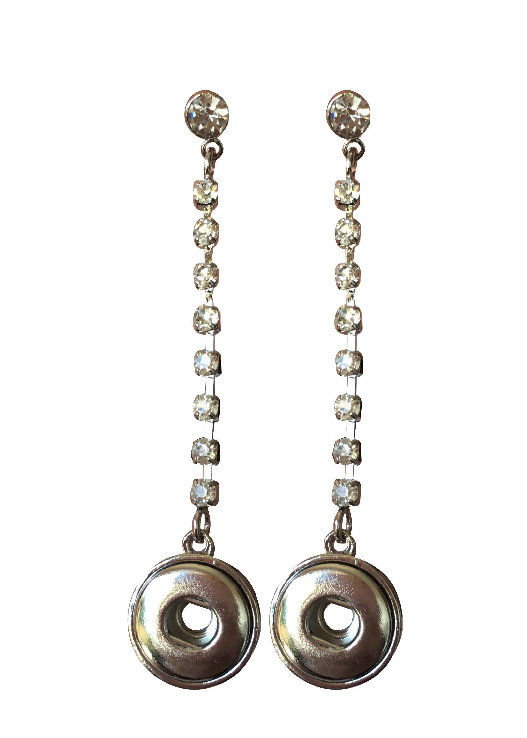 grey bonas long earrings round oliver banko drop stud jewellery