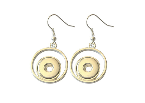 Petite circle earrings set