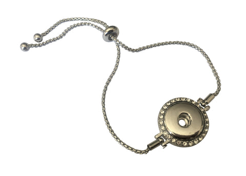 Classic - Adjustable Bracelet - Diamante