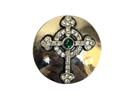 Classic -Cross with Emerald Stone