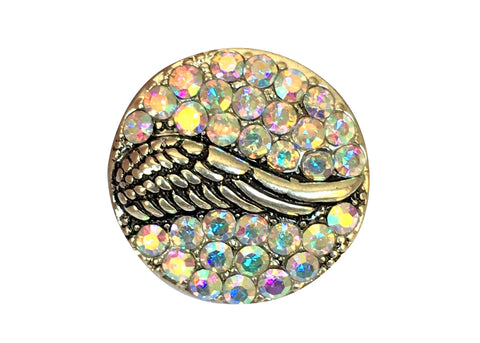 Classic - Wings with multi-coloured stones