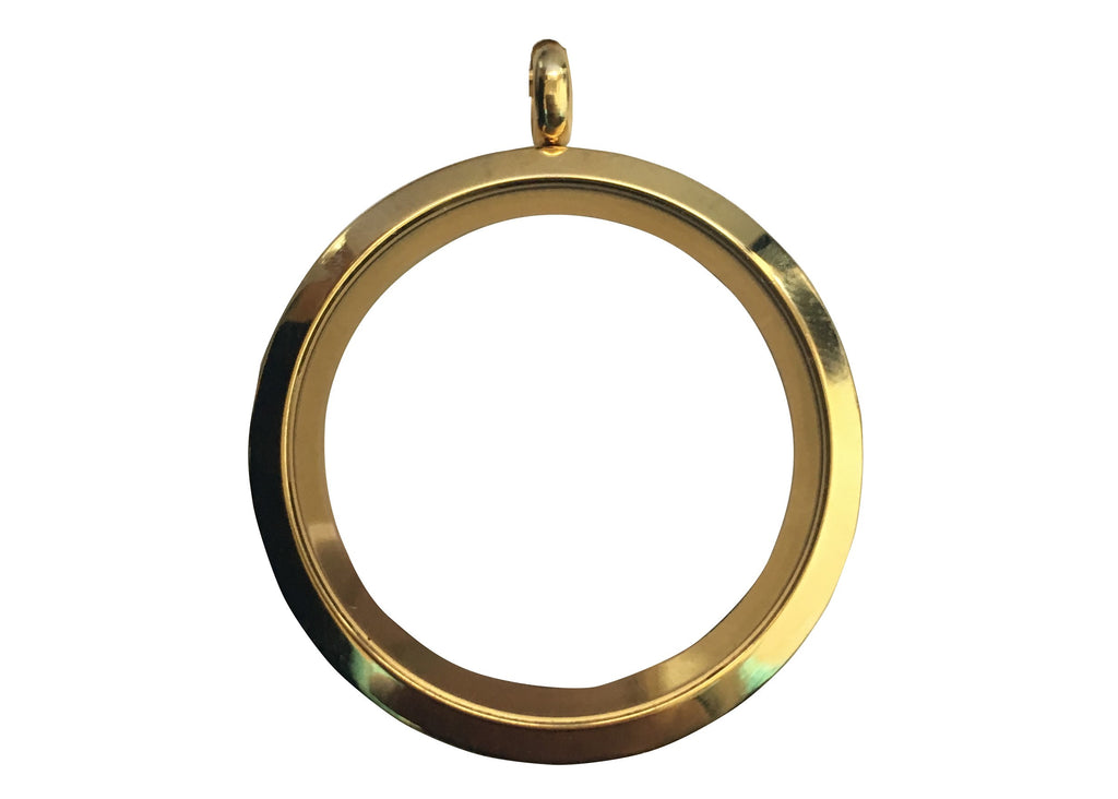 Yellow Gold Plain Locket