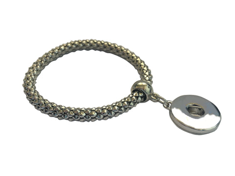 Classic 1-snap adjustable bracelet